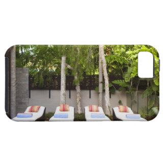 Deck Chairs Tropical House Case For The iPhone 5