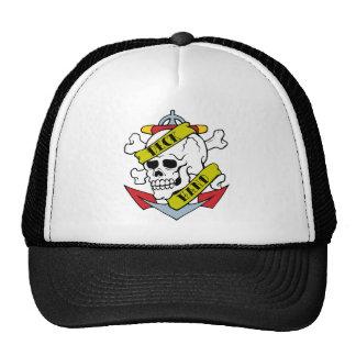 Deck Hand Tattoo Mesh Hat