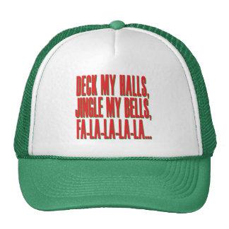 Deck My Halls, Jingle My Bells Trucker Hat