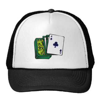 Deck of Cards Mesh Hat