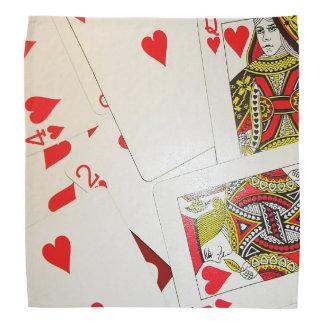 Deck of Playing Cards Bandana