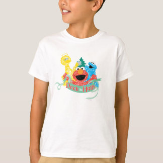 Deck the Hall Sesame Street T-Shirt