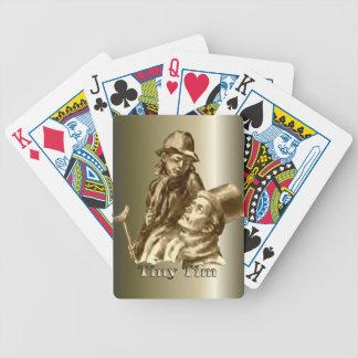 Deck the Halls and Tiny Tim Christmas Carol Playing Cards