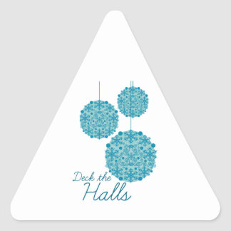 Deck The Halls Stickers