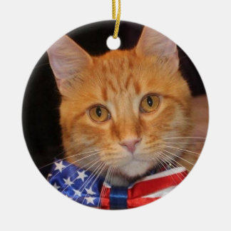 Deck the Halls with Mister President! Ceramic Ornament