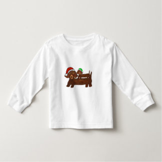 Decked out Dachshunds Toddler T-shirt