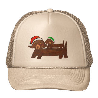Decked out Dachshunds Trucker Hat