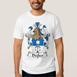 Decker Family Crest T Shirts