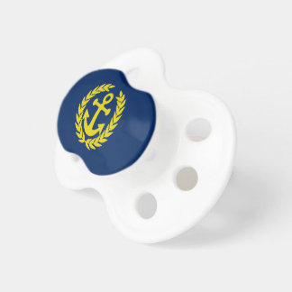 Deckhand with boat anchor baby pacifier