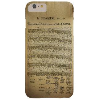 Déclaration d'indépendance vintage coque barely there iPhone 6 plus