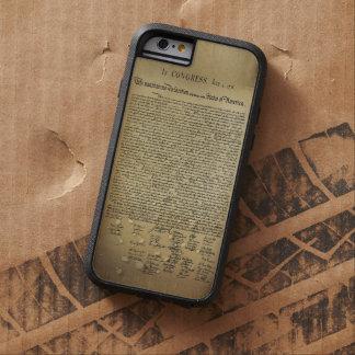 Déclaration d'indépendance vintage coque tough xtreme iPhone 6