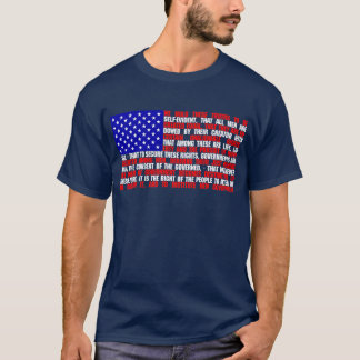 Declaration Flag T-Shirt
