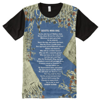 Declaration of Arbroath Scots Wha Hae Song T-Shirt
