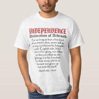 Declaration of Arbroath Scottish Independence Tee