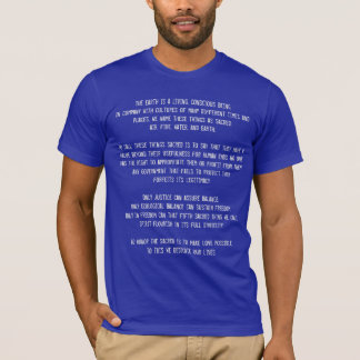 Declaration of Four Sacred Things T-Shirt