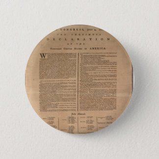 Declaration of Independence 2 Inch Round Button