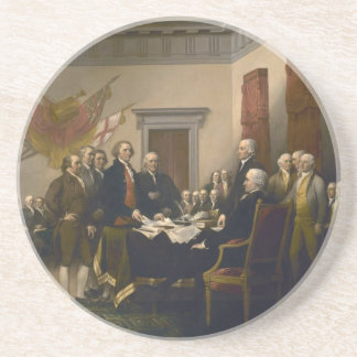 Declaration of Independence by John Trumbull Drink Coaster