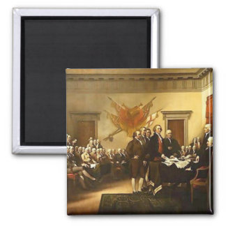 Declaration of Independence by Trumbull Magnet