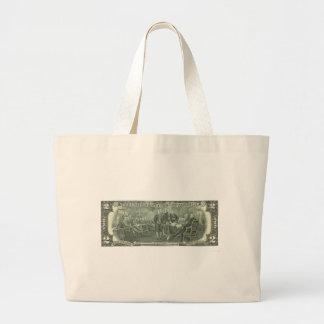 Declaration of Independence Large Tote Bag