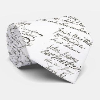 Declaration of Independence Tie