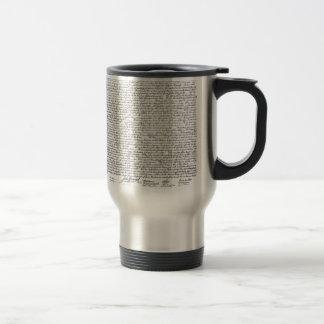 Declaration of Independence Travel Mug
