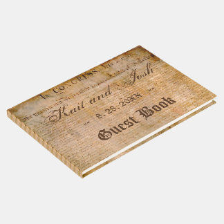 Declaration of Independence USA 1776 Wedding Guest Book
