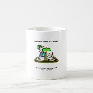 Declare Them As A Loss On Your Next Tax Return Classic White Coffee Mug