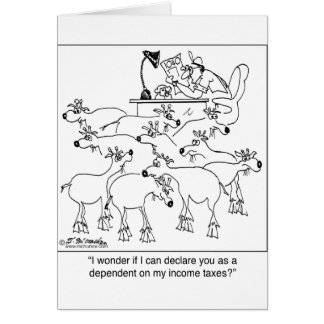 Declaring Goats as Dependents Card