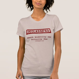 DECLASS Stamp, Priority One T-Shirt