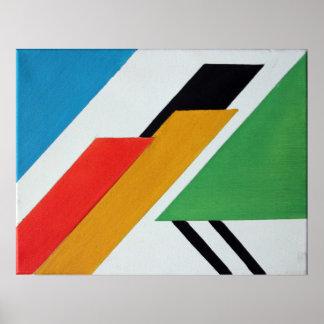 Decó - Abstract Geometrical Art Poster