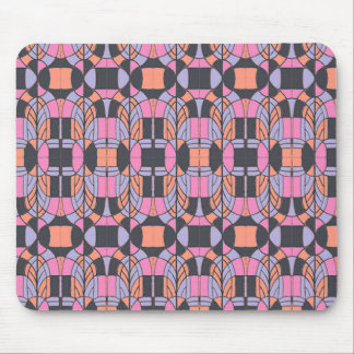 Deco Arch Mouse Pad Pink Multicolor Office School