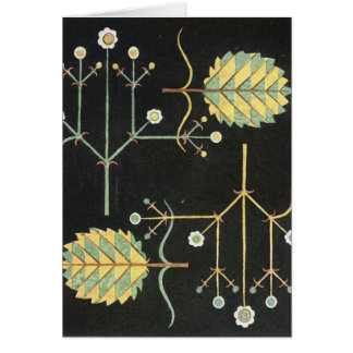 Deco Black Garden Card