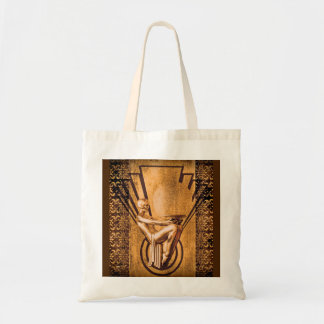 Deco Bronze Tote Bag