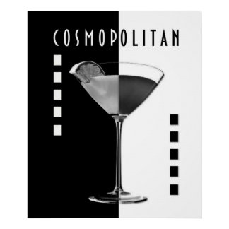 Deco Cosmo Poster