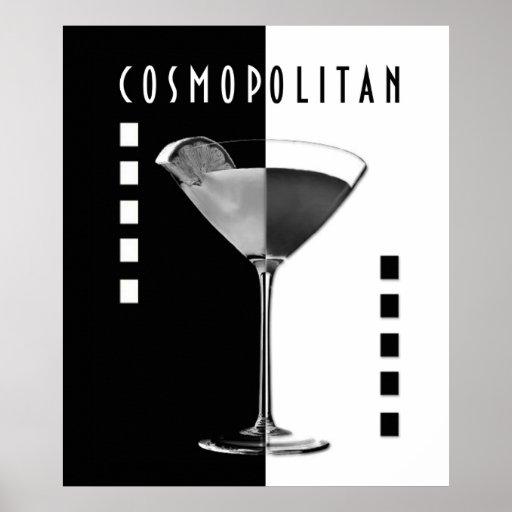 Deco Cosmo Poster