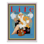 Deco Life Travel Cover- Coles Phillips 12 x 16 Poster