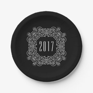 Deco New Year | 2017 New Year's Eve Party Paper Plate