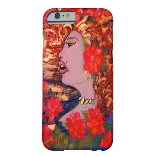 Deco Nouveau Woman in Garden Cake Mackinnon iPhone Barely There iPhone 6 Case