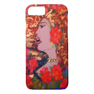 Deco Nouveau Woman in Garden Cake Mackinnon iPhone iPhone 7 Case