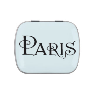 Deco Paris Candy Tin