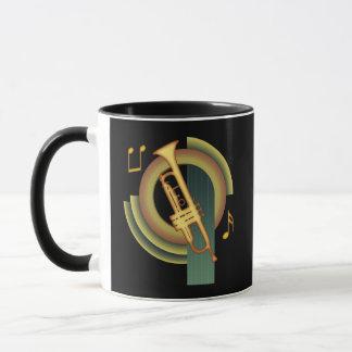 Deco Trumpet Mug