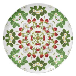 Deco Wild Strawberry Plate