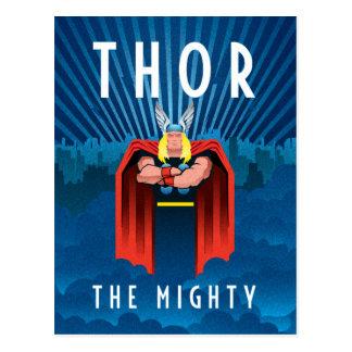 Decodant Thor Postcard