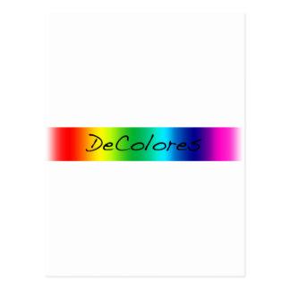 DeColores Banner Postcard