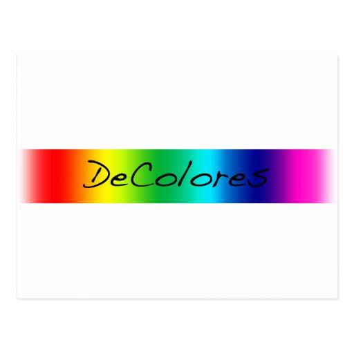 DeColores Banner Postcards