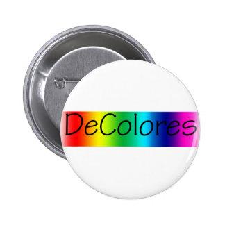 DeColores Pinback Buttons