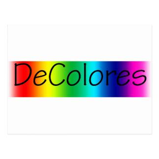 DeColores Postcard