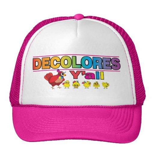 DECOLORES Y'all Trucker Hats