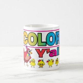 DECOLORES Y'all Mug