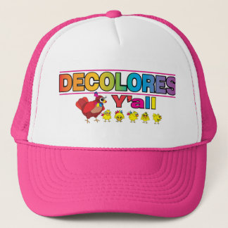 DECOLORES Y'all Trucker Hat